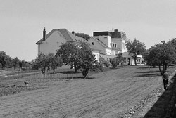 Bâtiment initial élevé en 1900